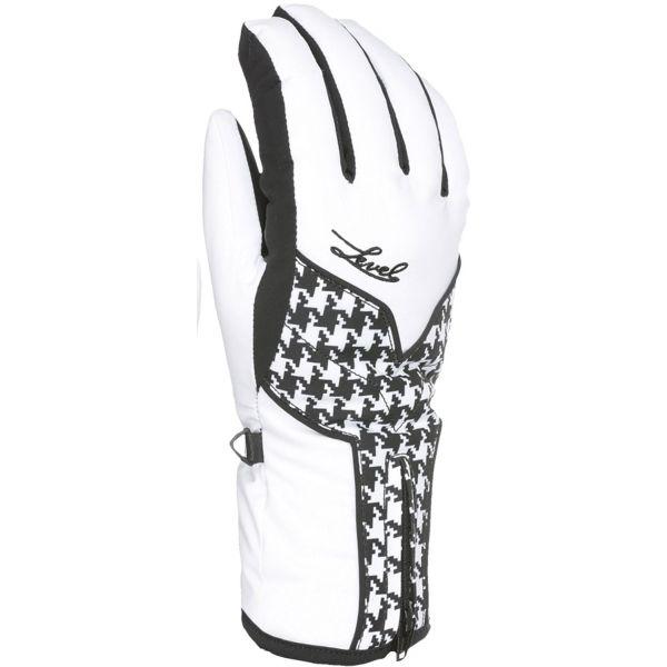 Level LIBERTY W GORE-TEX bílá 8 - Dámské lyžařské rukavice
