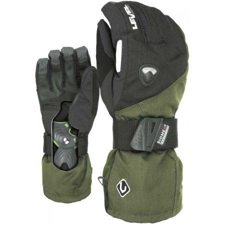 Pánske snowboardové rukavice - Level FLY CLAY - 2