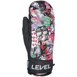 Level JUKE JR MITT - Dětské lyžařské rukavice