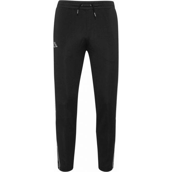 Kappa LOGO TAPE RICCIO černá XXL - Pánské kalhoty