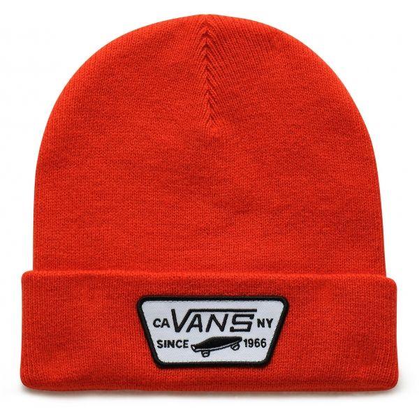 Vans MN MILFORD BEANIE červená UNI - Pánská zimní čepice