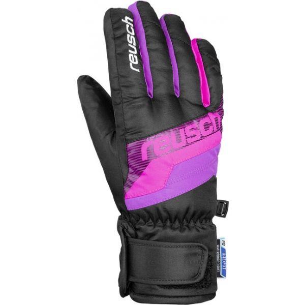 Reusch DARIO R-TEX XT JUNIOR růžová 4 - Lyžařské rukavice