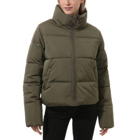 Women's winter jacket - Vans WM FOUNDRY PUFFER - 1