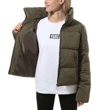 Women's winter jacket - Vans WM FOUNDRY PUFFER - 4