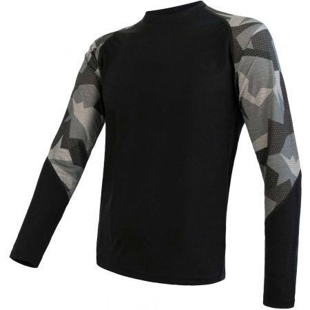 Sensor MERINO IMPRESS - Men's functional T-shirt