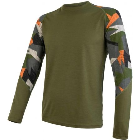 Sensor MERINO IMPRESS - Men's functional T-shirt