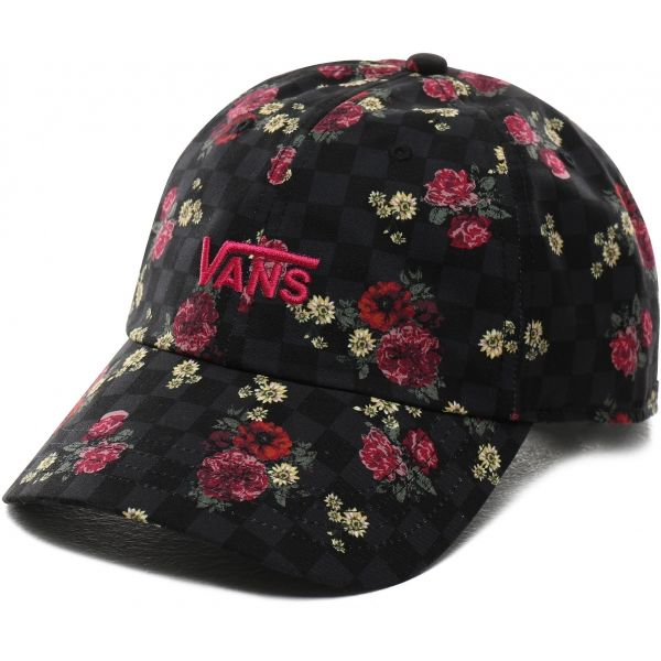 Vans WM COURT SIDE PRINTED HAT - Dámska šiltovka