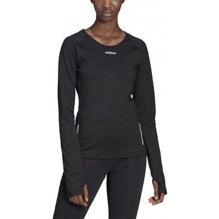 Дамска блуза - adidas WOMEN SPORT CW LONG SLEEVE TOP - 3