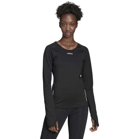 Дамска блуза - adidas WOMEN SPORT CW LONG SLEEVE TOP - 4