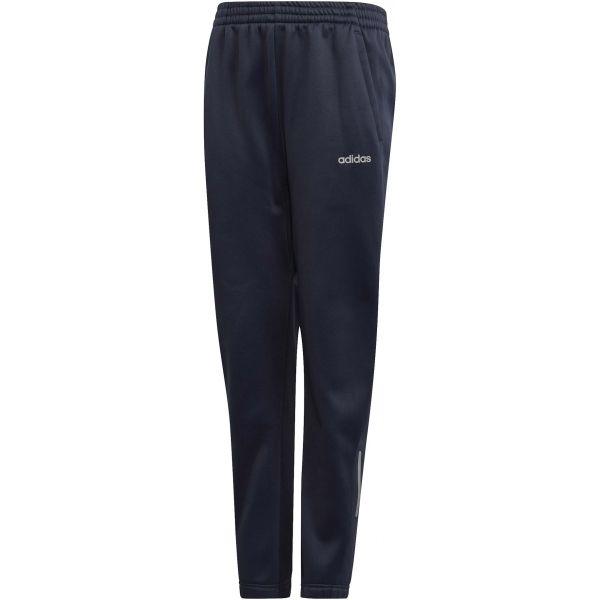 adidas YOUTH BOYS GEAR UP PANT granatowy 140 - Spodnie dresowe chłopięce