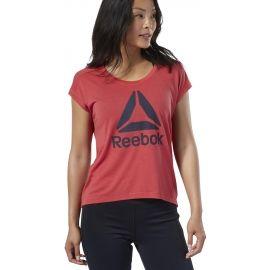 Reebok WOR SUPREMIUM 2.0 TEE BIG LOGO - Dámske tričko