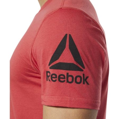 Мъжка тениска - Reebok COMMERCIAL CHANNEL SHORT SLEEVE TEE - 5