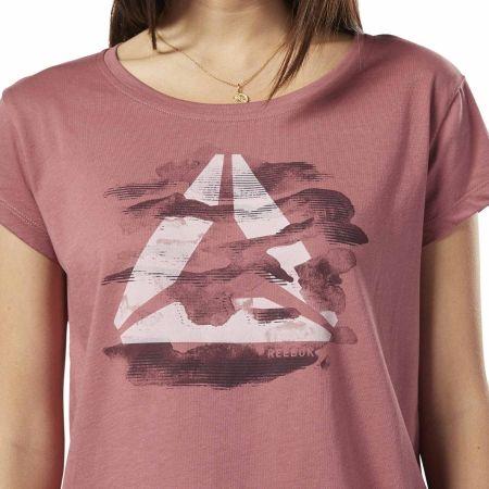 Dámské tričko - Reebok GS CAMO EASY TEE - 4