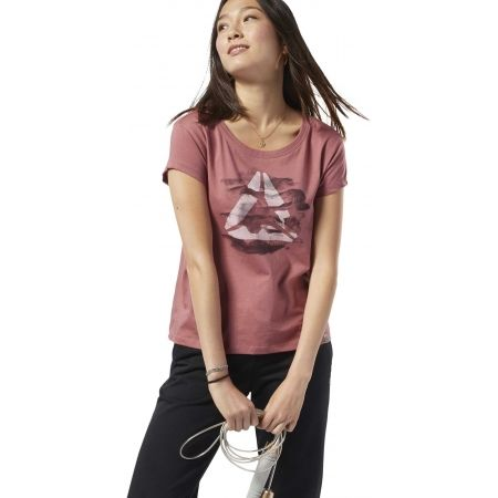 Dámské tričko - Reebok GS CAMO EASY TEE - 2
