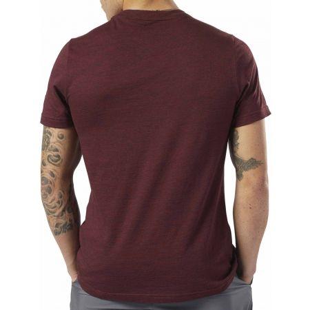Pánské tričko - Reebok TE MARBLE MELANGE BIG LOGO TEE - 3