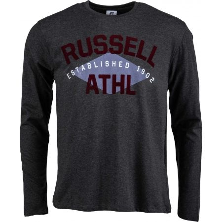 Russell Athletic L/S CREWNECK TEE SHIRT ESTABLISHED 1902 - Pánske tričko