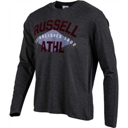 Pánské triko - Russell Athletic L/S CREWNECK TEE SHIRT ESTABLISHED 1902 - 2