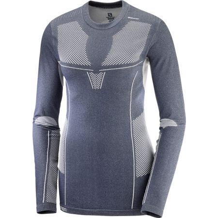 Dámské triko - Salomon PRIMO WARM SEAMLESS - 1