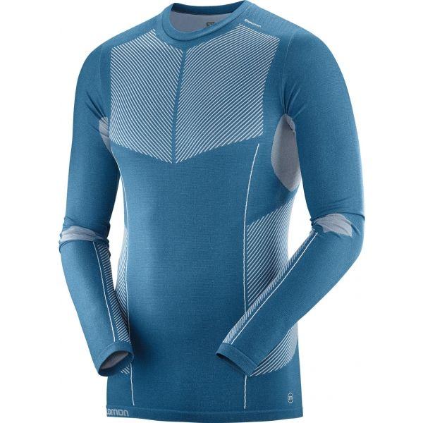 Salomon PRIMO WARM SEAMLESS TEE - Pánske tričko