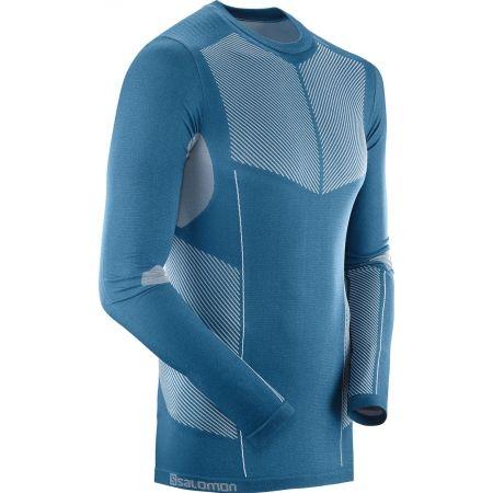 Pánske tričko - Salomon PRIMO WARM SEAMLESS TEE - 2