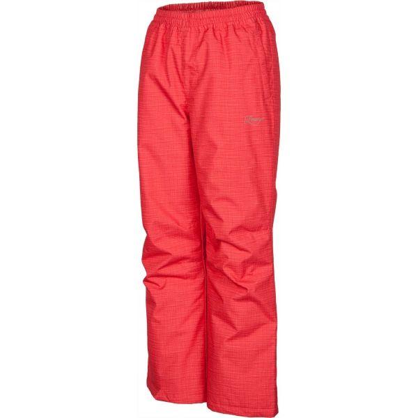 Lewro ELISS różowy 140-146 - Spodnie ocieplane dziecięce