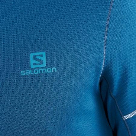 Pánska mikina - Salomon AGILE HZ MID - 4