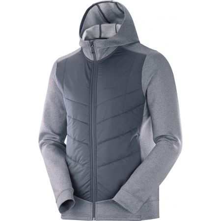 Salomon PULSE HYBRID HOODIE - Men's hoodie