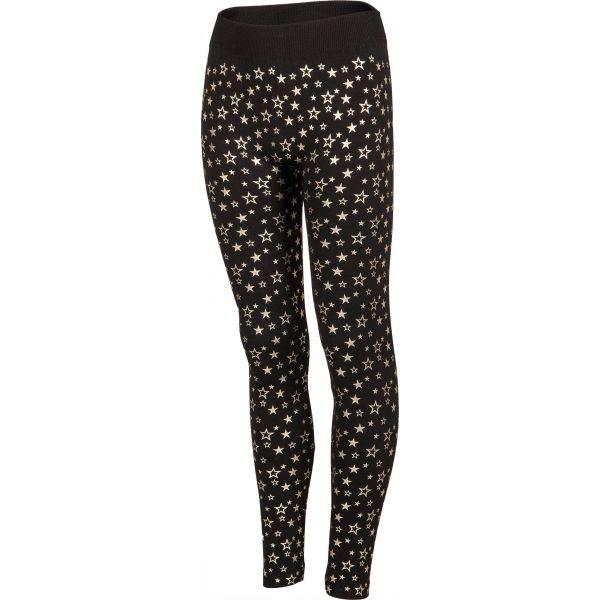 Lewro PUPPI fekete 164-170 - Lány bélelt legging