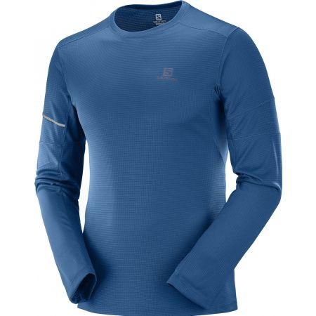 Salomon AGILE LS TEE - Pánske tričko