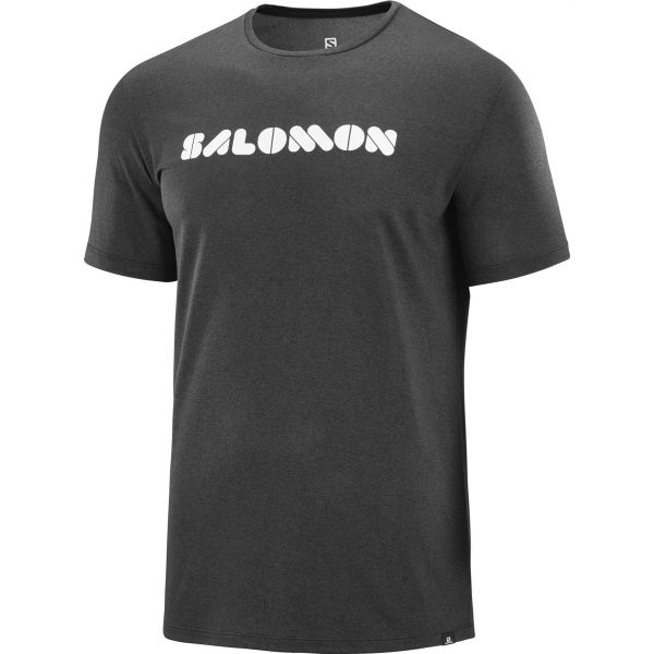 Salomon AGILE GRAPHIC TEE - Pánske tričko