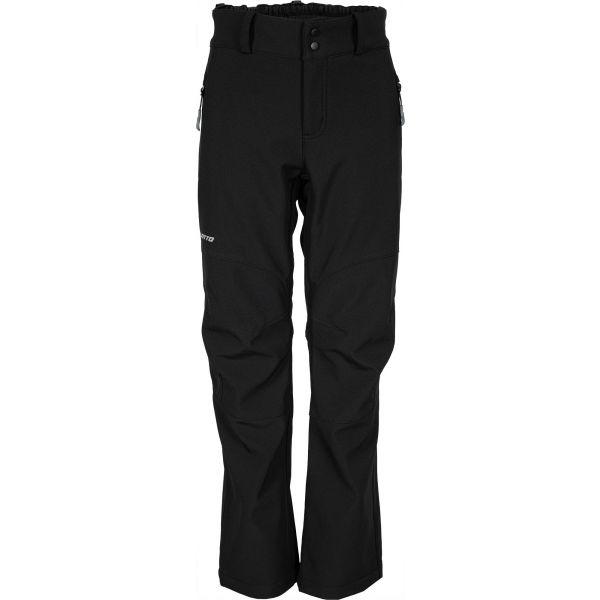 Lotto FIROS černá 152-158 - Dětské softshellové kalhoty