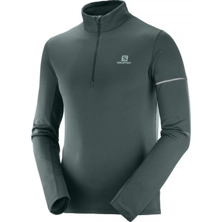 Salomon AGILE HZ MID - Men's sweatshirt