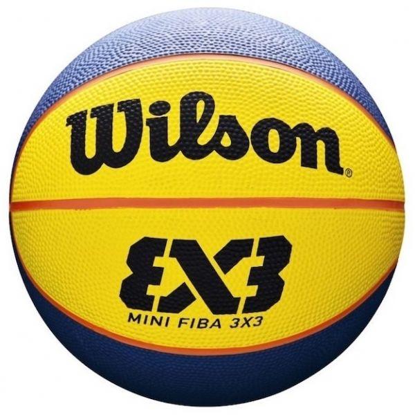 Wilson FIBA 3X3 MINI RUBBER BSKT - Mini basketbalová lopta