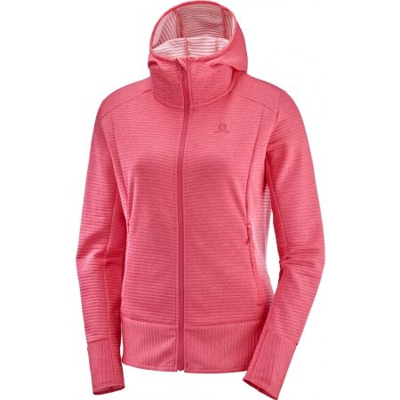Salomon RIGHT NICE MID HOODIE - Дамски суитшърт