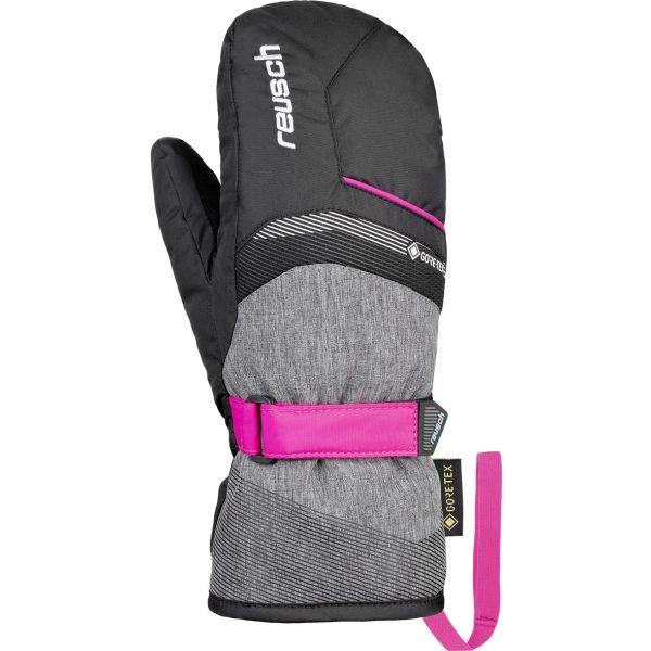 Reusch BOLT GTX JUNIOR MITTEN čierna Lyžiarske rukavice 4.5 Reusch