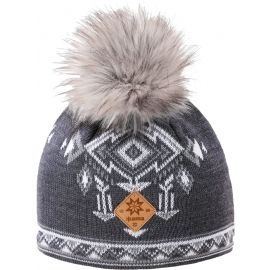 Kama A139-111 MERINO HAT BOBBLE - Women's knitted hat