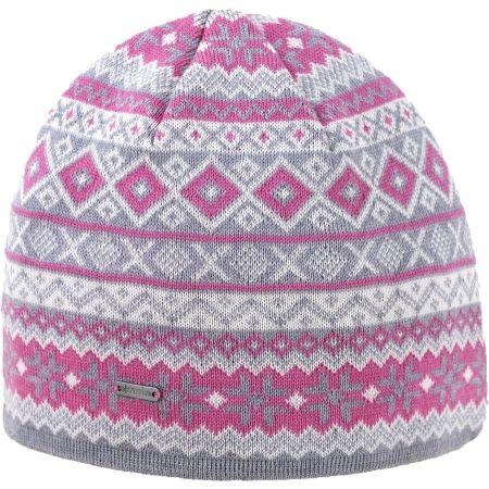 Kama A134-109 ШАПКА С МЕРИНО ВЪЛНА - Дамска плетена шапка