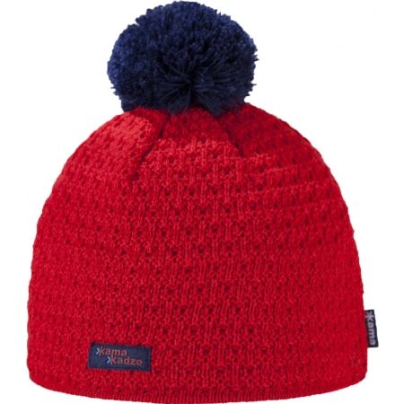 Kama K36-104 MERINO HAT BOBBLE - Women's knitted hat