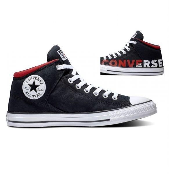 Converse CHUCK TAYLOR ALL STAR HIGH STREET černá 44.5 - Pánské kotníkové tenisky