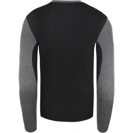 Pánské tričko s dlouhými rukávy - The North Face EASY L/S CREW NECK - 2