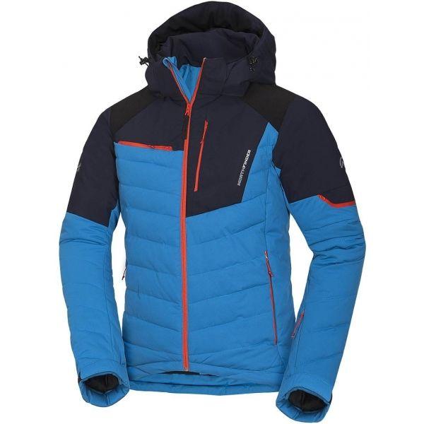 Northfinder INDIGO modrá XXL - Pánská lyžařská bunda