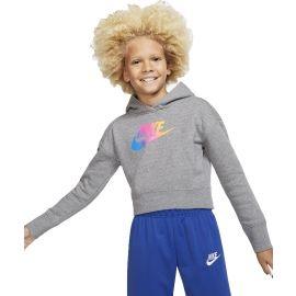Nike NSW FF CROP G - Bluza dziewczęca