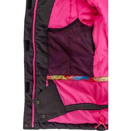 Dívčí snowboardová bunda - Lewro DARLEEN - 4