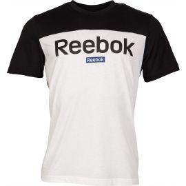 Reebok TE BL SS TEE - Tricou bărbați