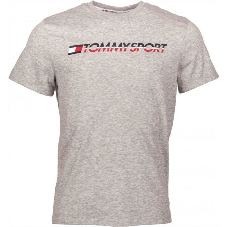 Tommy Hilfiger T-SHIRT LOGO CHEST - Pánské tričko