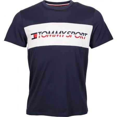 Tommy Hilfiger T-SHIRT LOGO DRIVER - Pánské tričko