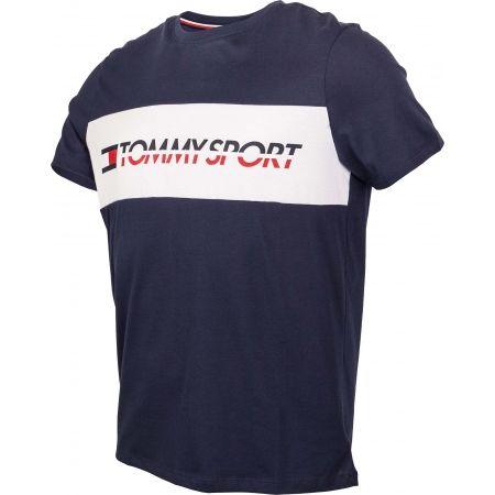 Pánské tričko - Tommy Hilfiger T-SHIRT LOGO DRIVER - 2