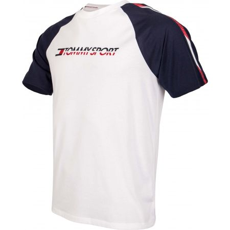 Pánske tričko - Tommy Hilfiger LOGO TEE WITH TAPE - 2