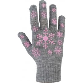 Lewro ARIADNA - Children's knitted gloves