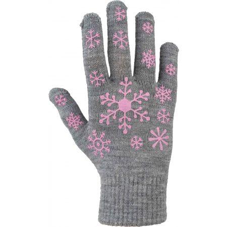 Lewro ARIADNA - Dětské pletené rukavice